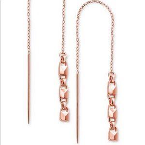 Michael Kors Rose Gold Threader Earrings- BRAND 🆕